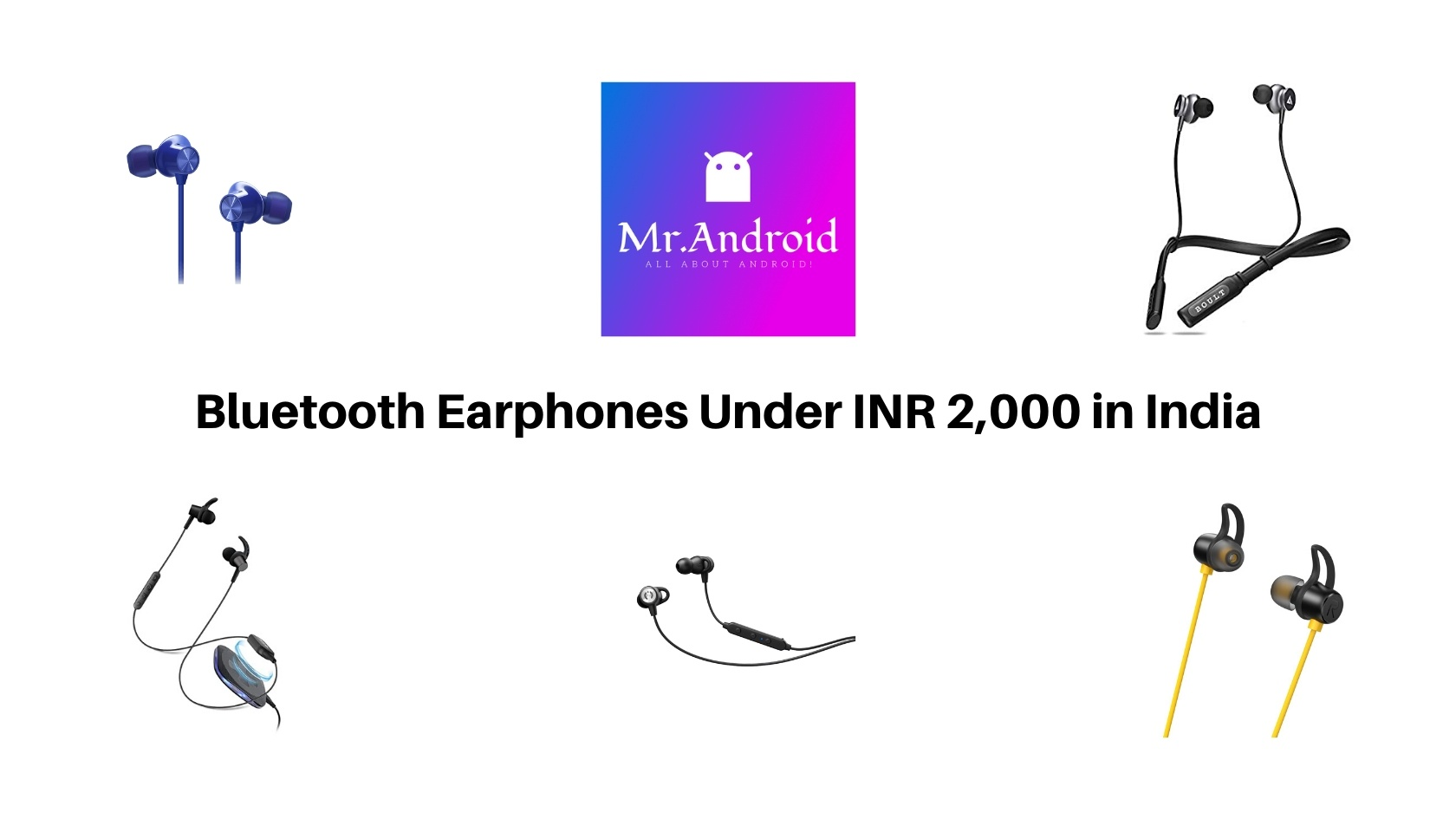 Best Bluetooth earphones Available in India