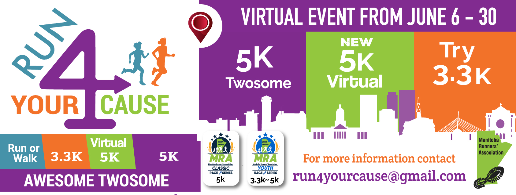 Virtual Run 4 Your Cause 2020