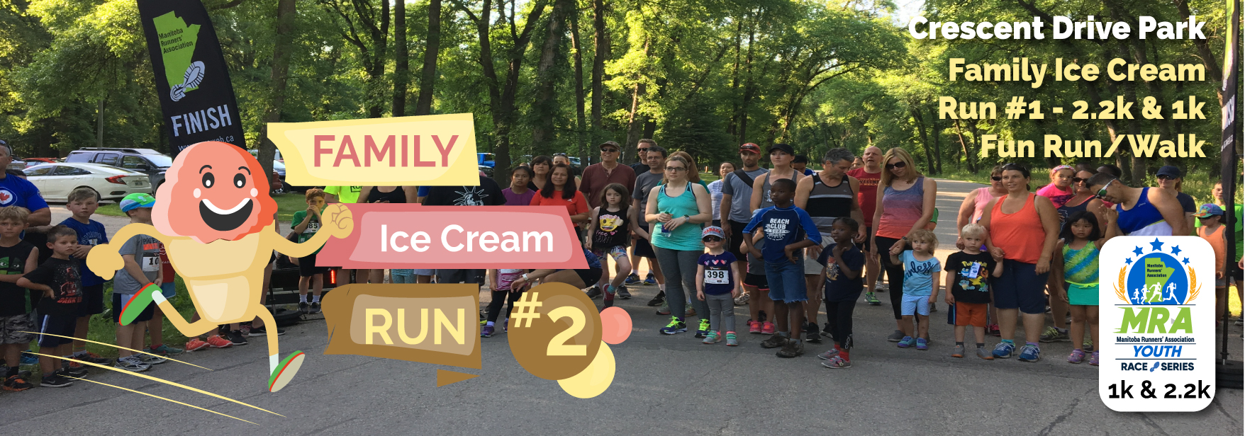 MRA Family Ice Cream Run #2  **VIRTUAL EVENT AUGUST 5-19**