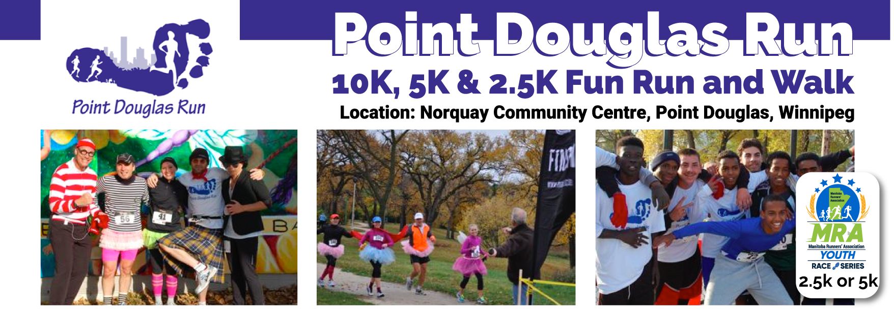 Point Douglas Run  **VIRTUAL EVENT SEPTEMBER 12-OCTOBER 17**