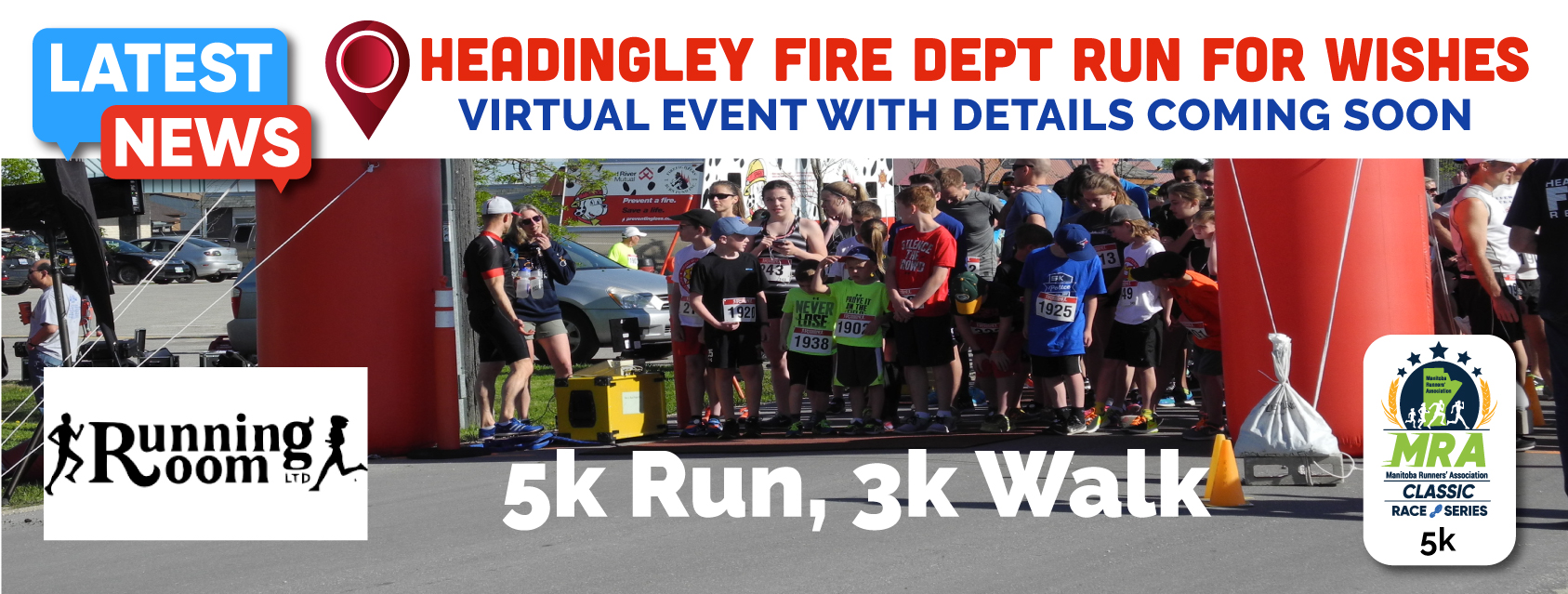 Headingley Fire Dept Run for Wishes  **VIRTUAL EVENT MAY 1-31**
