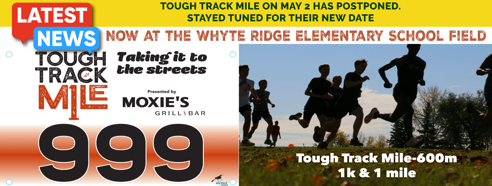 Tough Track Mile - **POSTPONED - DATE TBA**