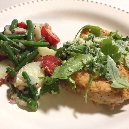 Pan Fried Francese Style Chicken - Blue Apron