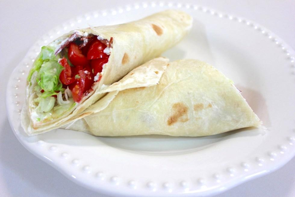 BLT Sandwich Wrap