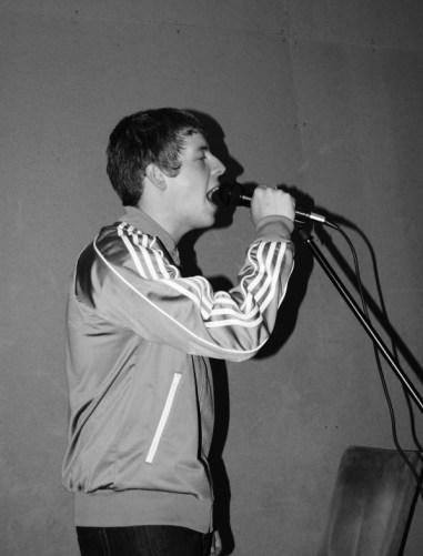Singer black and white 3