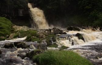 Ingleton waterfall 16