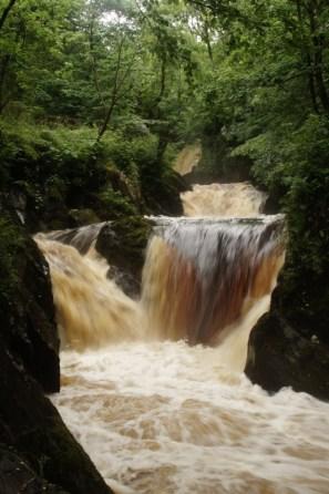 Ingleton waterfall 2