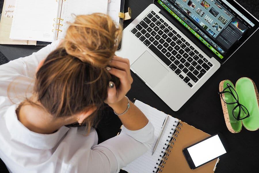 5 signes du stress auxquels vous ne pensez pas
