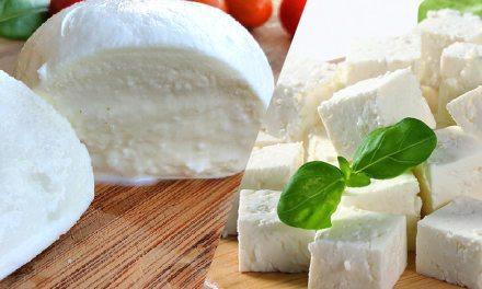 Meilleur pour la santé : féta ou mozzarella ?