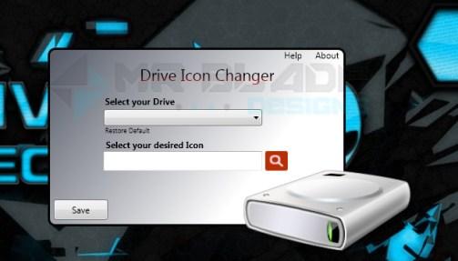 hard drive icon changer