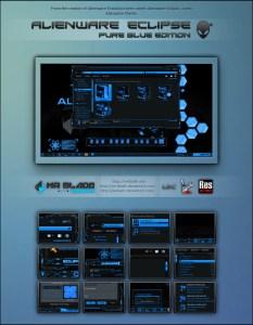 Alienware Eclipse Pure Blue Edition for Windows 7