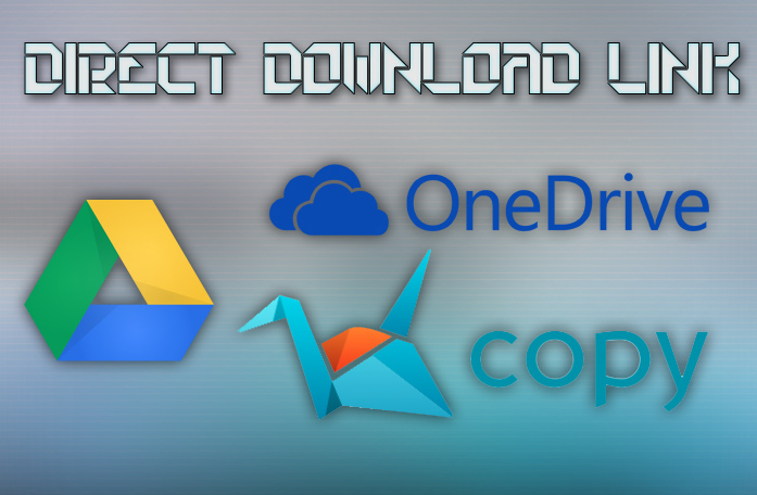 Generate direct download link from googledrive, onedrive