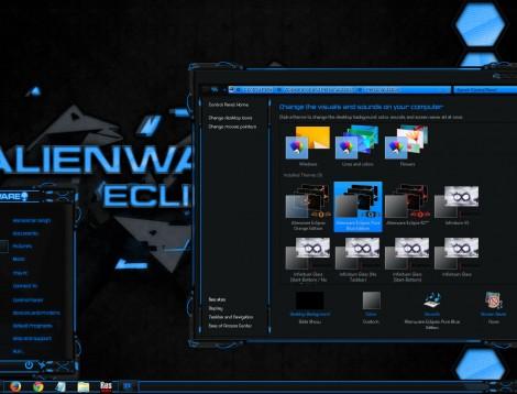 Alienware Eclipse Pure Blue Edition for Windows 8