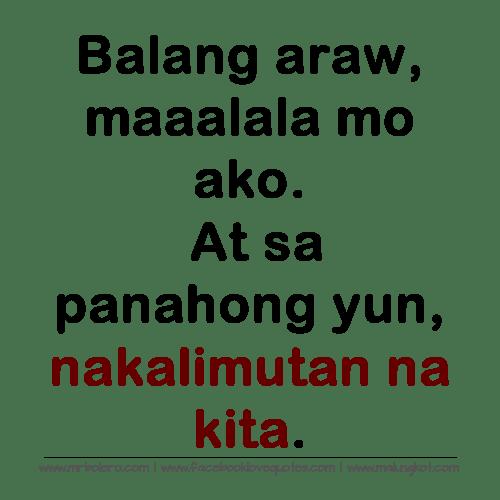 Hugot Lines Kaibigan Sa Patama Tagalog