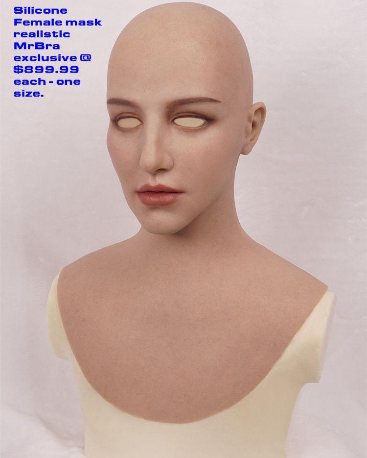 breast mask female silicone realistic