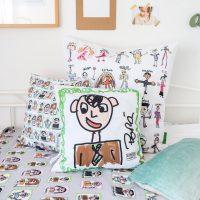 Cojines personalizados dibujos Mr Broc