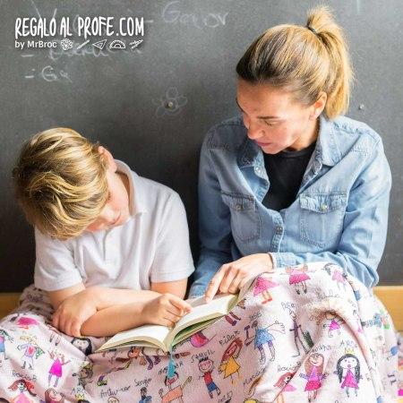 manta personalizada regalos para profesores
