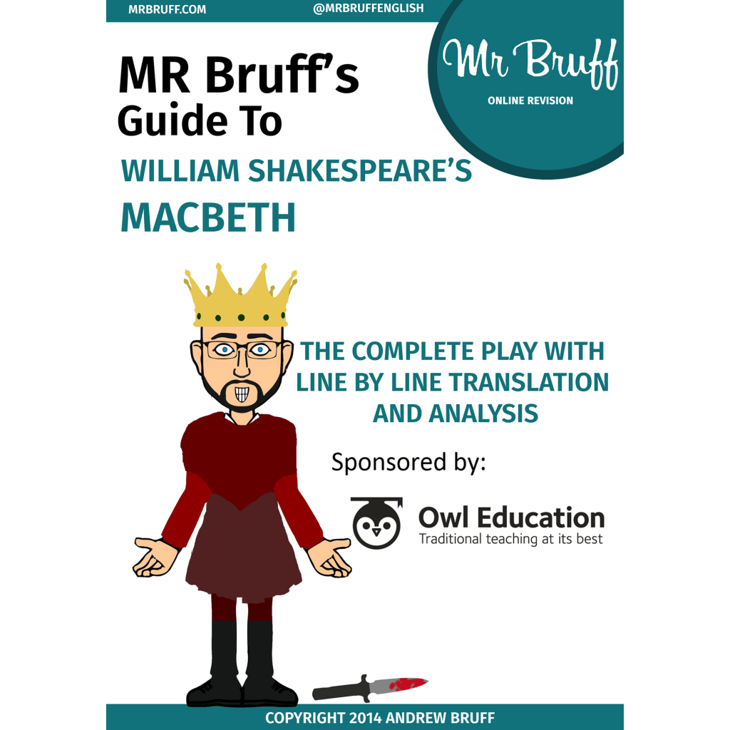 Mr Bruff S Guide To Shakespeare S Macbeth