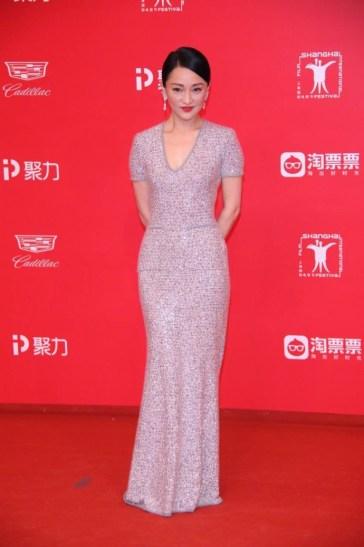 Zhou Xun in Chanel Pre-Fall 2017-2
