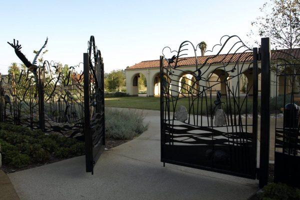 Lewis MacAdams Riverfront Park Gates