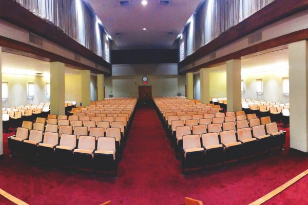King Gillette Ranch Auditorium - view from the stage