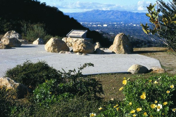 Nancy Hoover Pohl Overlook - Mulholland Drive