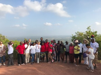 After the conference: a trip to Shimba Hills National Park
