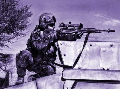 What does the sniper symbolize (abstract meaning) in the short story