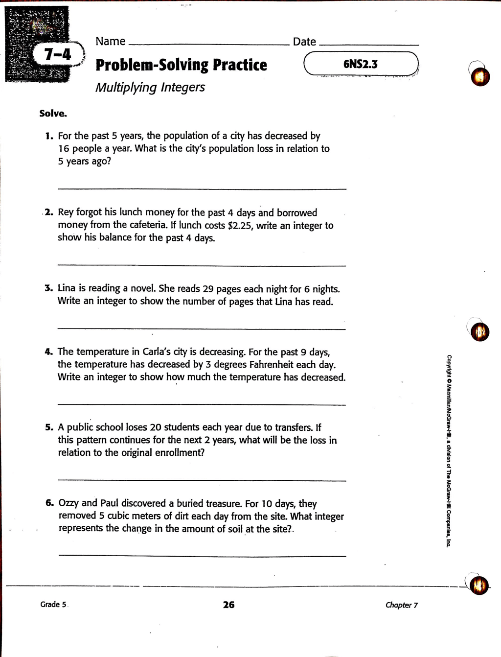 Adv Hw With Examples 7 4 Problem Solving Practice
