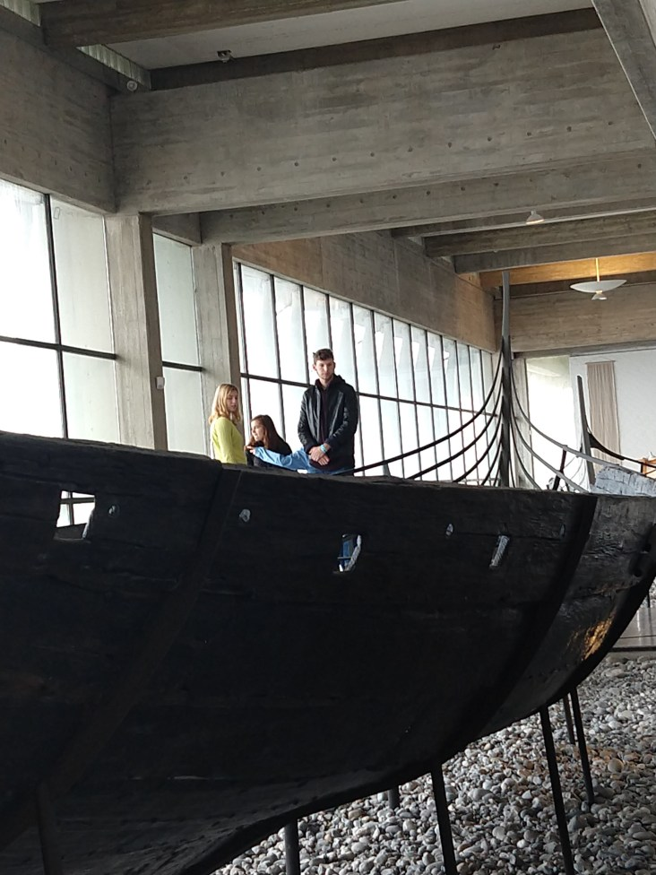 One of the five restored Viking ships