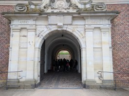Kronborg castle entrance