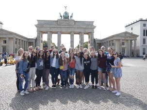 Group @ Brandenburg Gate