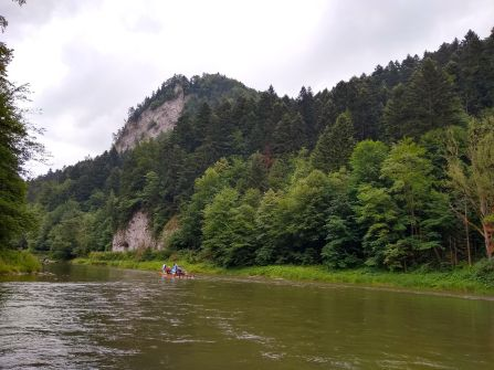 Floating on the Dunajec River