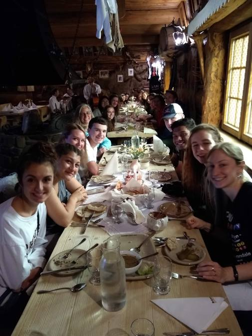Early dinner in Zakopane