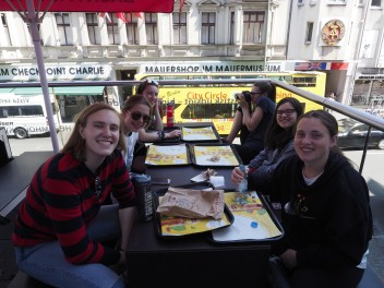 Lunch at Checkpoint Charlie