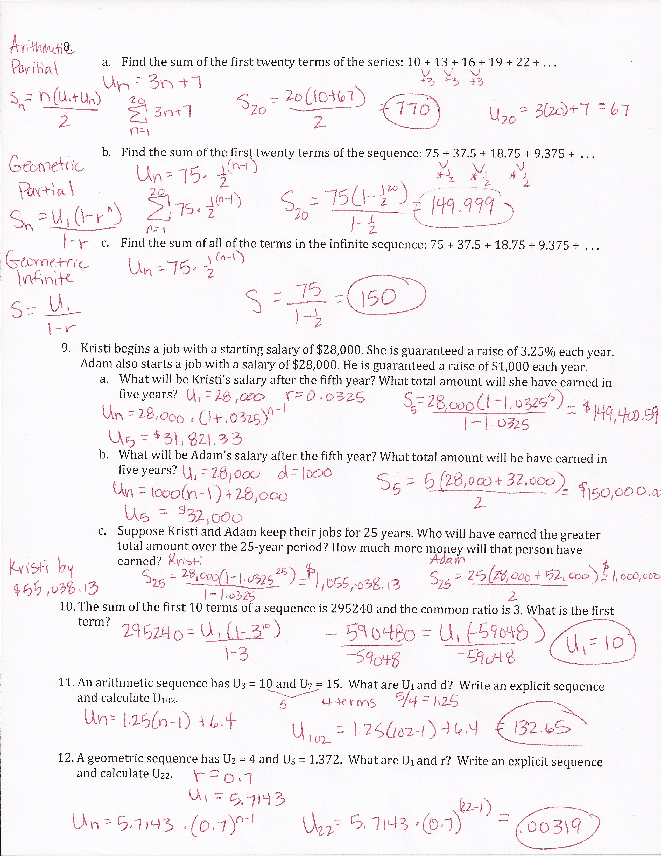 Sequence And Series Review Sheet Answers Stage Drama Songs Mp3 Download