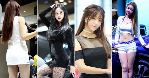 Các người đẹp Hàn khoe sắc tại triển lãm Busan International Motor Show 2016 (54 videos)