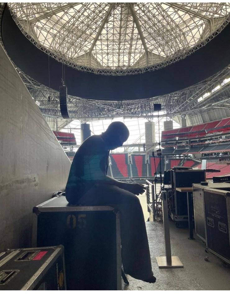 Kanye west living in MB stadium