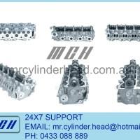 Mazda WLT complete cylinder head