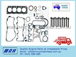 Toyota 3L full gasket set Head Bolt kit MCH