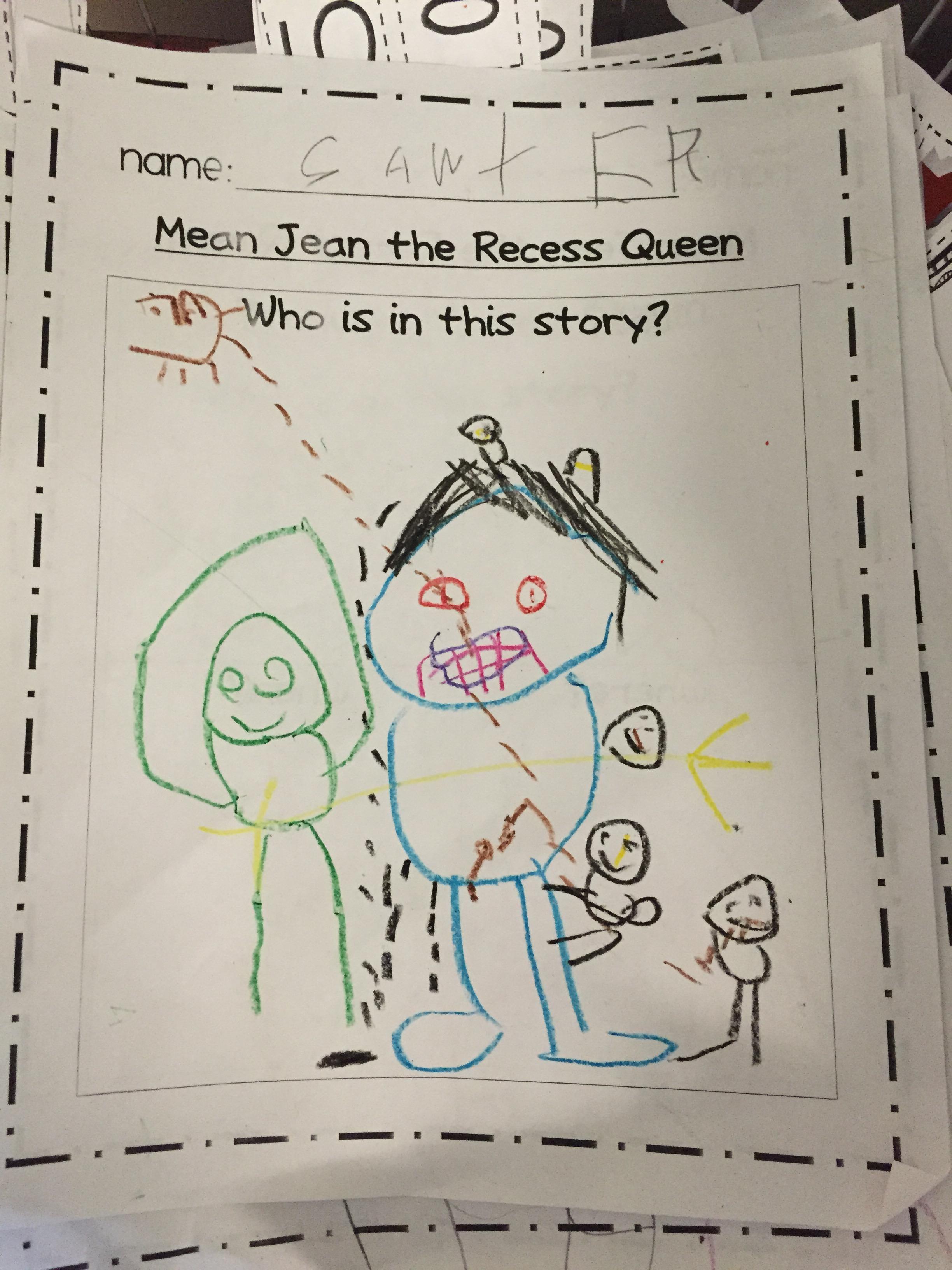 Mean Jean The Recess Queen