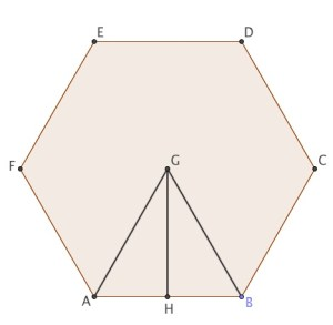 Polygon with Inscribed Triangle