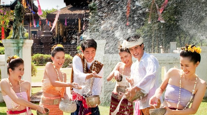 Official: Songkran 2018 Extended to 5 Days Long in Thailand