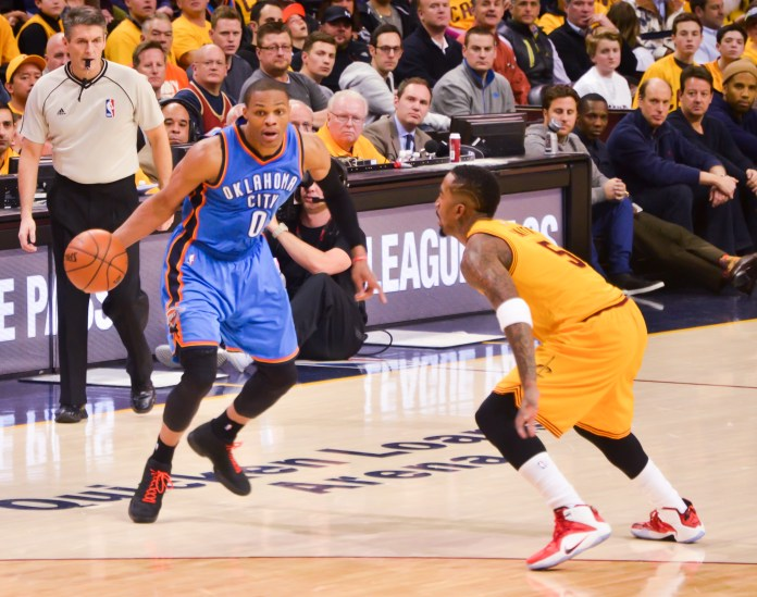 Russell Westbrook vs J.R. Smith