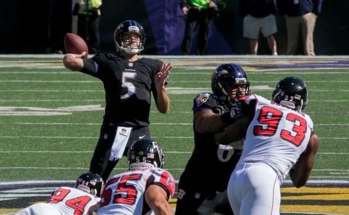 Balitmore Ravens Joe Flacco