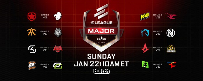 Eleague Major 2017 Day 1
