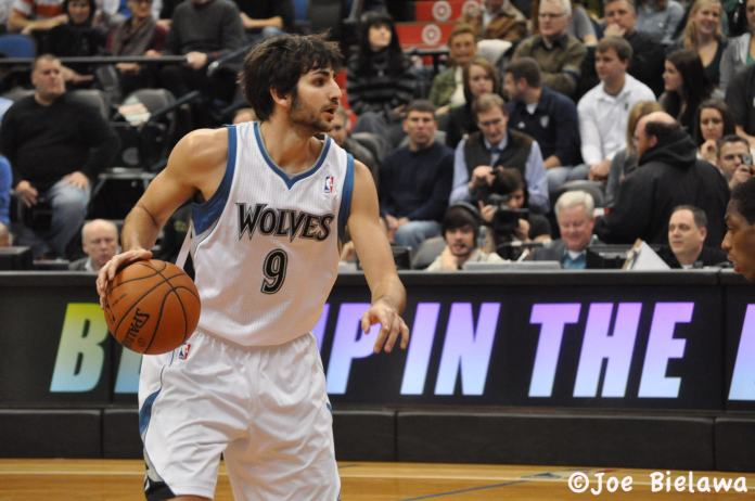 Minnesota Timberwolves Ricky Rubio