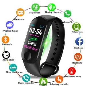 Smart Watch With Heart Rate Fitness Tracker- Android IOS
