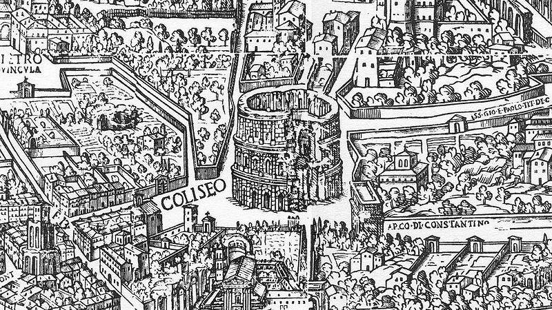 La sorprendente segunda vida del Coliseo romano durante la Edad Media