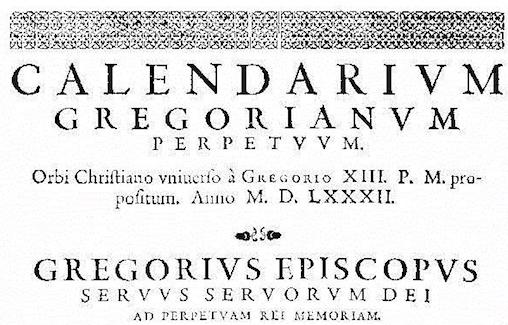 Una Europa, diferentes fechas: la larga implantación del calendario gregoriano